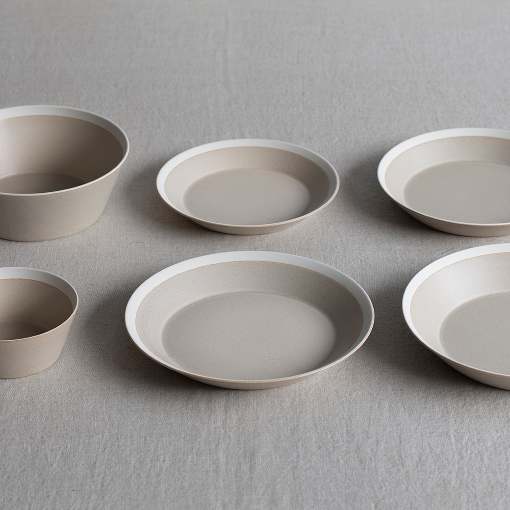 dishes 220 plate (sand beige) /matte(プレート、ボウル)